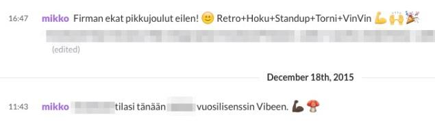 emojia-viestinnässä